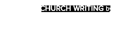 Church Writing Logo
